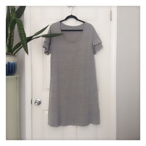 🤰Isabel Maternity L Grey T-shirt Dress